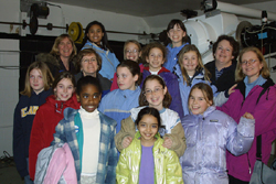 Troop 4777 visits the UMD Observatory