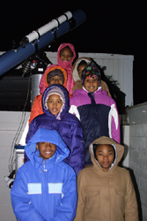 Troop 5669 visits the UMD Observatory