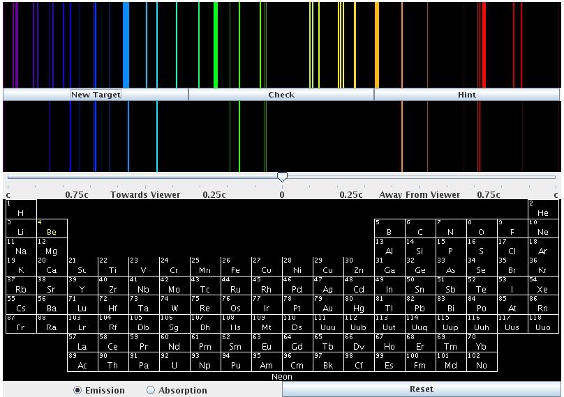 Emission Spectra of Hydrogen Hydrogen Atom Line Emission