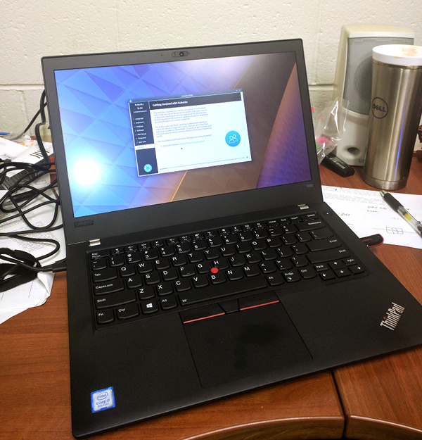 Linux on the Thinkpad T480