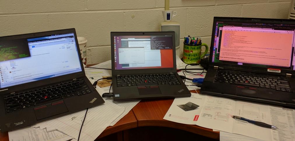 Linux on the Thinkpad X270